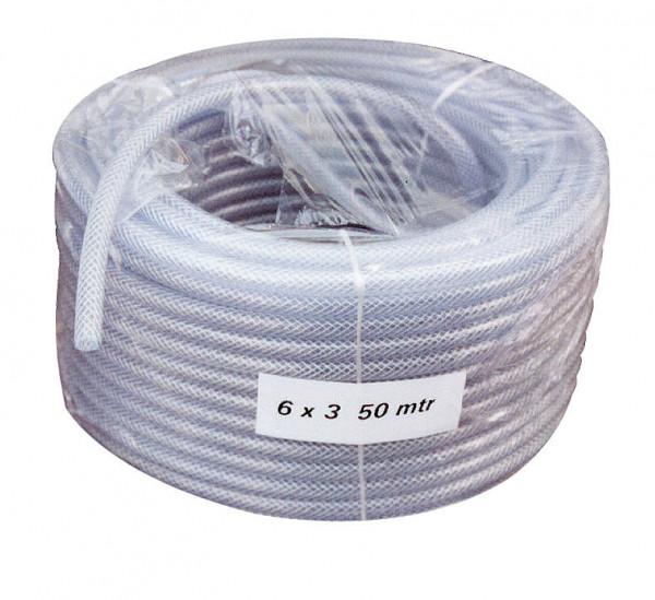 Druckluftschlauch glasklar Ringe à 50 m