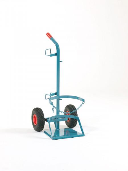 Stahlflaschenwagen für 1 Flasche 33 kg Propan