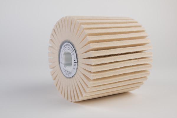 Filz-Lamellenwalze Ø 100 mm