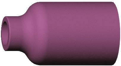 Gasdüse Keramik für Gaslinse Länge 42 mm