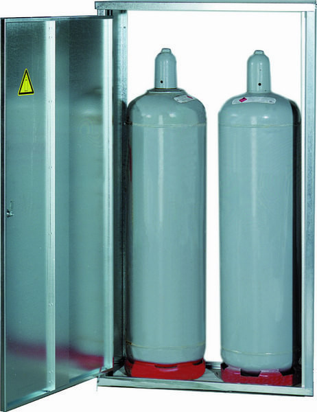 2-Flaschenschrank 33 kg ohne Rückwand