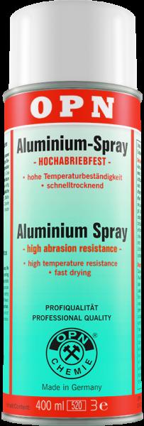 Aluminiumspray hochabriebfest 400 ml