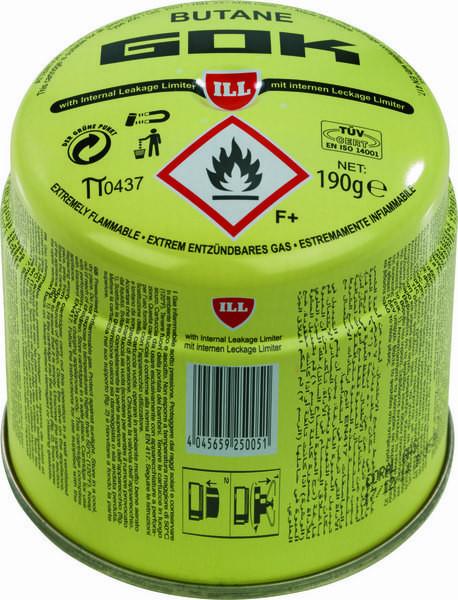 Gas-Kartusche 190 g Butan