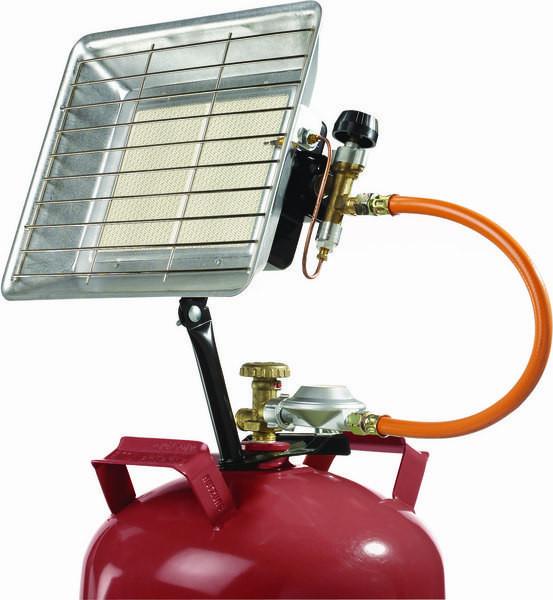 Infrarot-Flüssiggas-Strahler für Freizeitbereich