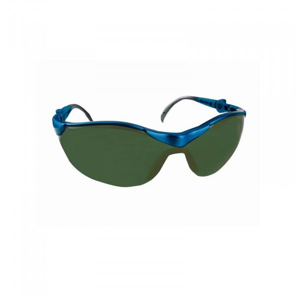 Panorama-Brille, grüne Kunststoffgläser