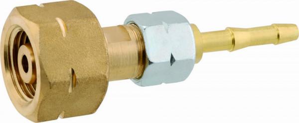Flaschenanschluss mit Trennstelle KLF 6 mm Tülle