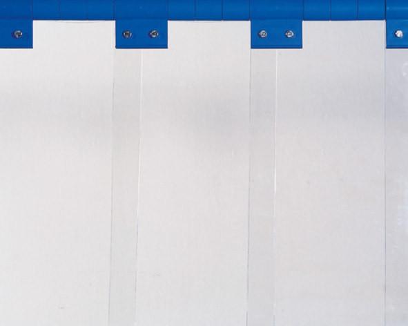 Schutzlamelle S0, glasklar 400 x 4 mm, Meterware, 2,00 kg/m