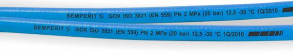 Autogenschlauch Sauerstoff blau Ø 13 mm