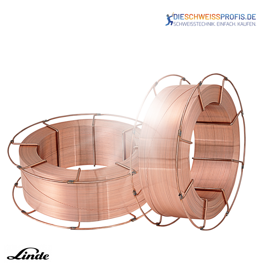 Linde Drahtelektrode SG3 G4Si1-1,2mm verkupfert// lagengespult 15 kg Spule