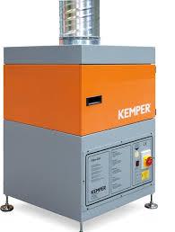Filter-Cell Absauganlage, mit Aluminiumvorfiltermatte