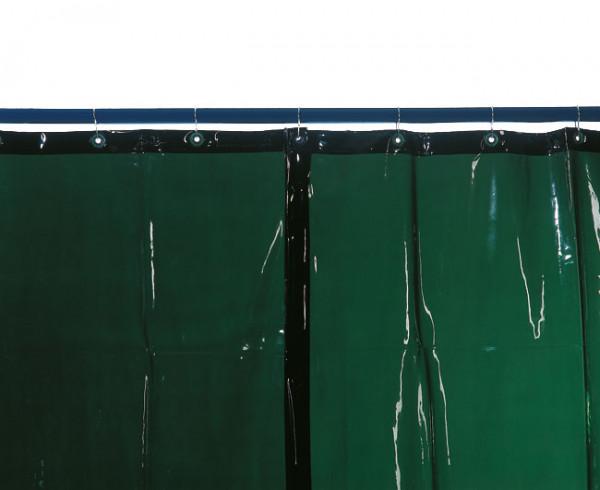 Schweißerschutzvorhang S7, grün, D 0,4 mm