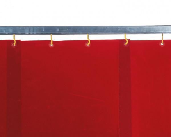 Schweißlamellenvorhang, rot, D 1 mm
